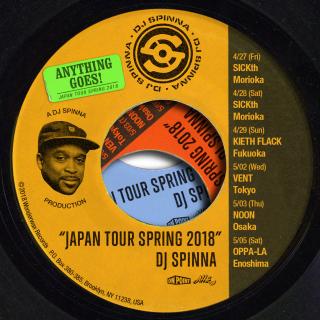 DJSPINNA JAPANTOUR2018SPRING